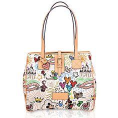 Disney Sketch Tote Bag By Dooney Bourke Large Dreams Of All Things Moms