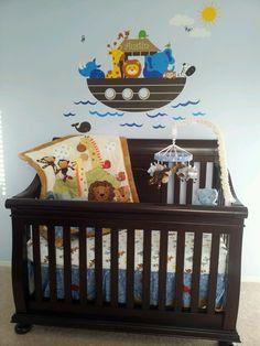 Austin's nursery. Noahs ark nursery.