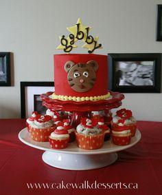 DANIEL TIGER CAKE   http://www.facebook.com/cakewalkdesserts