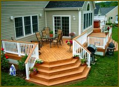 vinyl decking design 004 Deck Plans and Design