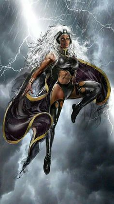 X-Men : Storm by Marvel-Comics Marvel Dc, Storm Marvel, Marvel Women, Marvel Girls, Comics Girls, Marvel Heroes, Storm Xmen, Captain Marvel, Comic Book Characters