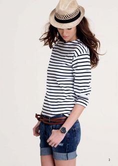 Nautical summer style