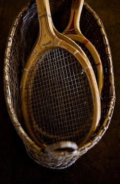 old tennis rackets Sunday Images, Vintage Tennis, Ivy Style, Maila, Play Tennis, Tennis Gear, Glamour, Mans World, Brown Dress