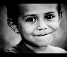 Smiling eyes by gunnisal, via Flickr