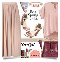 """""""Rosegal  68"""" by mell-2405 ❤ liked on Polyvore featuring LORAC, H&M and Bing Bang"""