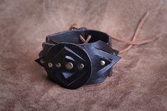 Ardigram. Leather design-studio  Bracelet