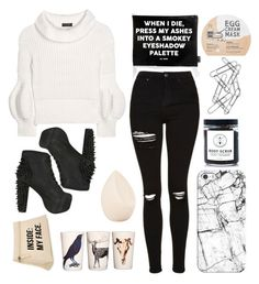 """Untitled #4983"" by prettyorchid22 ❤ liked on Polyvore featuring Casetify, Jac Vanek, Topshop, Burberry, Jeffrey Campbell, Birchrose + Co., Home Decorators Collection, Christian Dior, Samantha J Lowe and too cool for school"