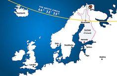 severní polární kruh - Hledat Googlem
