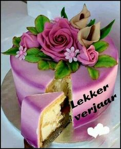Verjaarsdag koek