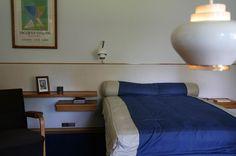 Louis Carré's bedroom, designed by Alvar Aalto.
