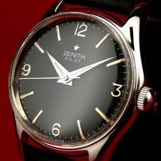 vintage zenith watch in Wristwatches