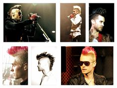 #MARScollage| Jared Leto + the mighty #Mohawk