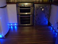 Kitchen kickboard baseboard led lights totally want these diy cheap kitchen plinth kickboard lighting workwithnaturefo