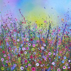 Love Sparkles (2008) Wild Flowers - Yvonne Coomber #Flowers