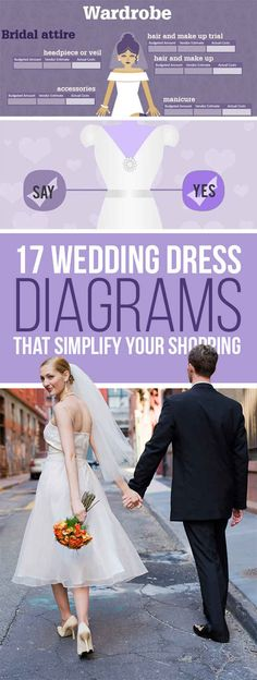 17 Wedding Dress Diagrams That Will Simplify Your Shopping