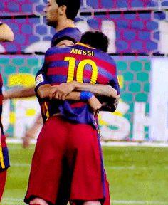 Neymar & Messi AW MY HEART
