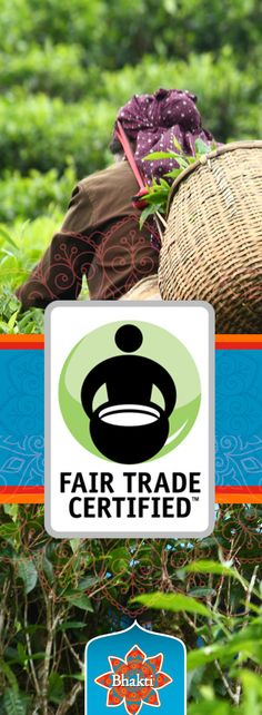 The Fair Trade Certified label ensures that Bhakti Chai's black tea is produced according to standards that enable sustainable livelihoods for small-scale farmers and farm workers in the developing world. Learn more about what being a Fair Trade company means to us