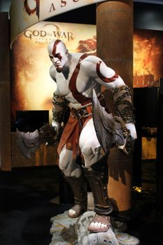 Kratos - God of War, Penny Arcade Expo 2012. Boston Convention & Exhibition Center.