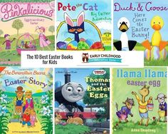 These books are perfect last minute items for your children's Easter baskets. They are going to be full of sugar from all the fun Easter activities and these books are a perfect way to calm them down from all of the excitment. These books are perfect to read to them before or after the bunny …