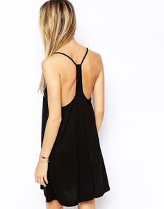 ASOS | ASOS Strappy Cami Swing Dress at ASOS