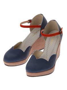pou dou dou scallop shoes