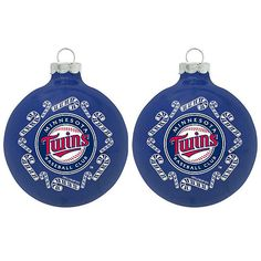 Spruce up your tree with this Twins Ornament Set!