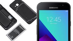Samsung Galaxy Xcover 4 smartphone was launched in March 2017. The phone comes with a 4.99-inch touchscreen display with a resolution of 720 pixels by 1280 pixels, a rugged Nougat-powered smartphone that's designed for outdoorsy types and people working in extreme conditions.  Samsung Galaxy Xcover 4, is a rugged and waterproof smartphone, that is IP68 certified which means that the phone is fully dust resistant and can withstand prolonged immersion in water up to 1.5 meters. Also, it can…