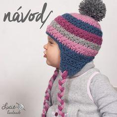NÁVOD č.19** na zimní ušanku / Zboží prodejce Lucie handmade | Fler.cz