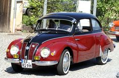 1953-1955 DKW F91 - produced by the Auto Union concessionaire in Brazil: VEMAG