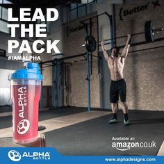 Any crossfiters out there?  #IAMALPHA #AlphaBottle by alphadesignsuk