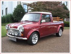 Hemmings News has listed this 1969/2000 Austin Mini Cooper S Mk. II 1275cc Pickup Truck as their Car of The Day for 2nd April 2013.