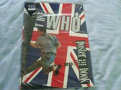 THE WHO POSTER BOOK Some great MOD pictures Pete Roger Daltrey Keith Moon John