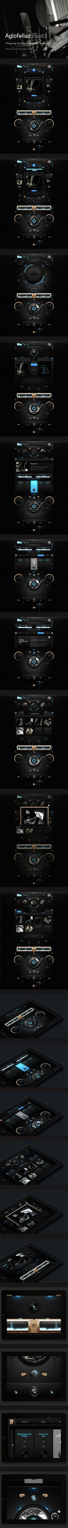 Aglofellaz Beatz by Dominik Wasieńko, via Behance