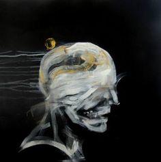"Saatchi Art Artist Oscar Nin; Painting, ""m-121"" #art"