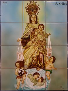Virgen del Carmen. Santurce. (Vizcaya) by graffitis de selles, via Flickr