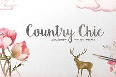 Country Chic Script - Script - 1