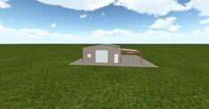 Cool 3D #marketing http://ift.tt/2zcb8DK #barn #workshop #greenhouse #garage #roofing #DIY