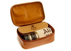 What It's For: leather bootsWhy You Need It: On trips home over Thanksgiving and the holidays,� those boots will probably be getting a lot of wear. Having something handy like this might mean you'll actually take the time to take care of them.TRAVEL SHOE CARE KIT, $130, ALDEN,�JCREW.COM via @stylelist