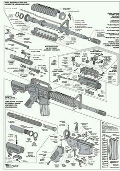 ar 15 exploded parts diagram ar 15 parts list steve s stuff rh pinterest com ar 15 diagram mat ar15 diagrams