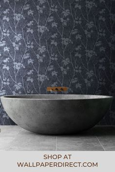 A stunning digital mica wallpaper with a striking leaf and branch silouette design on a distressed shaded background. Shown in the Midnight dark greys colourway. Co-ordinating plain available. Graham Brown, Blue Wallpapers, True Colors, Beauty, Dark, Digital, Design, Beauty Illustration