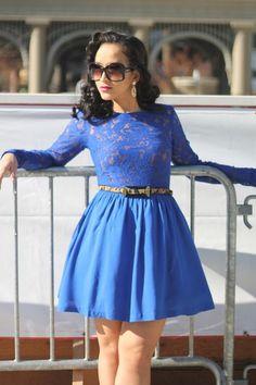 Lady In Blue »
