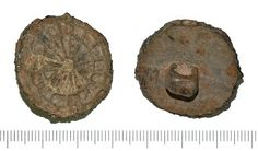 medieval button