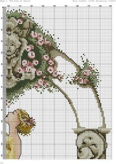 Fantasy Cross Stitch, Cross Stitch Fairy, Cross Stitch Designs, Cross Stitch Patterns, Cross Stitch Pictures, Rose, Crotchet, Cross Stitching, Yellow