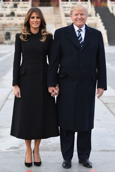 Melania Trump Clothes and Outfits Trump Melania, First Lady Melania Trump, Melana Trump, Milania Trump Style, Donald Trump, Donald And Melania, Fashion Looks, Elegant Outfit, Models
