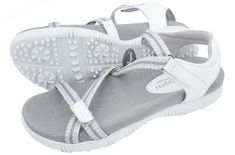 Check out what Loris Golf Shoppe has for your days on and off the golf course! Sandbaggers Ladies Golf Sandals - GALIA White