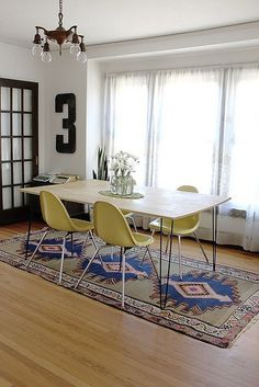 A Colorful Pop of Eames by AphroChic, via Flickr