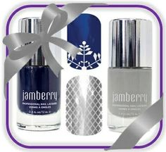 Love these colors, perfect for the Winter season! www.missysjamberrynails.jamberrynails.net