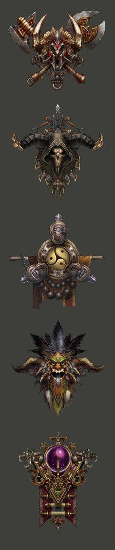 Diablo III 五大职业图标