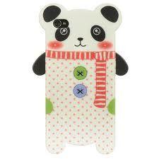 Panda Skin Case for iPhone 4/4S (White)