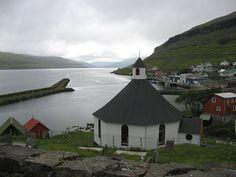 Haldarsvík in Northern Streymoy, Faroe Islands
